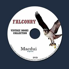 Falconry, Coursing, Hawking Old Books Collection 37 PDF E-Books on 1 DVD