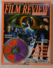 FILM REVIEW SPECIAL 23 GODZILLA LOST IN SPACE THE X FILES AVANGERS INCL CD FR 96