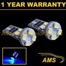 2x W5w T10 501 Canbus Error Free Azul 8 Led sidelight Laterales Bombillos sl101601