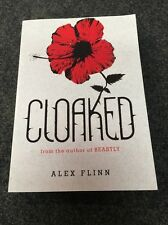 Shop M2 --  Cloaked by Alex Flinn paperback book from the author of Beastly