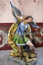 "Incredible 12"" ST. MICHAEL ARCHANGEL STATUE Devil NEW!"
