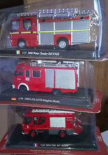Fire engine POMPIERS 1:64 scale  2001 PSE 4G  SIDES  CBO148 NEUF