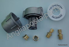 Fuel Filter kit 50 micron filter 4mm unions Eberspacher & Webasto