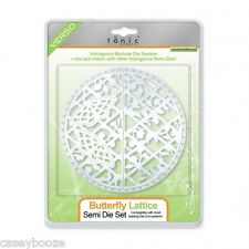Tonic studios indulgence semi circle die set-papillon lattice - 470E-vente