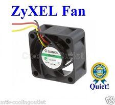 ZyWALL ZyXEL Quiet Version Fan for USG110 USG210 USG300 USG310, only 12dBA Noise