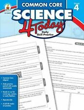 COMMON CORE SCIENCE 4 TODAY, GRADE 4 -  (PAPERBACK) NEW