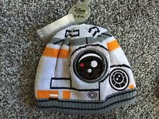 STAR WARS BB-8 HAT winter licensed beanie,DISNEY STORE NWT official 3-6 years