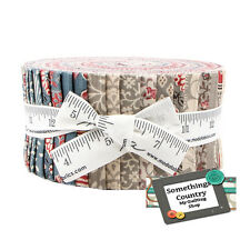 Moda Jelly Roll PONDICHERRY Patchwork Quilting Sewing 2.5 inch strip Fabric New