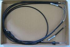 Bowdenzugsatz für Simson KR51/2 schwarz komplett 4-teilig