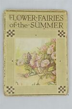 Flower Fairies Of The Summer Cicely Mary Baker Poems Pictures Illustrated Book