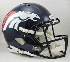 DENVER BRONCOS NFL Riddell SPEED Full Size AUTHENTIC Football Helmet