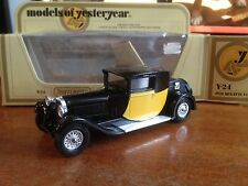 Matchbox Models of Yesteryear Y-24 1928 Bugatti T44 - Yellow Box
