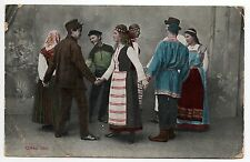 RUSSIE Russia Théme Types russes costumes Personnages DANSE