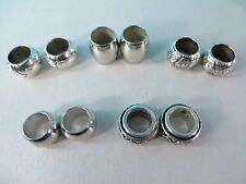 US Seller-10 pcs wholesale scarf ring large hole bead for scarves with jewelry