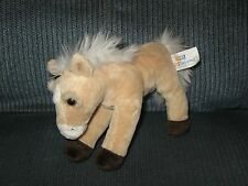 Kids Preferred HORSE Tan White Plush Bean Bag Toy 8""