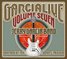 JERRY GARCIA CD - GARCIALIVE VOL.7: NOVEMBER 8, 1976 SOPHIE'S PALO ALTO (2016)