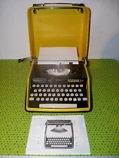 Machine à écrire portable Remington Riviera Sperry Rand typewriter in case