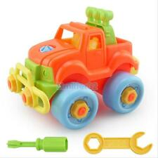 Festival Gift Kids Child Baby Boy Disassembly Assembly Classic Plastic  Car Toys