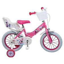 "Bike 14 "" Minnie Disney girl kid bicycle 14 inch New"