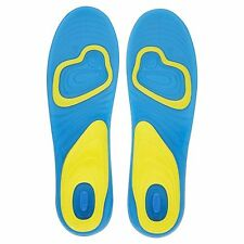 Men Outdoor Gel Orthotic Sports Insoles Insert Pad Arch Support Feet Care L39-44