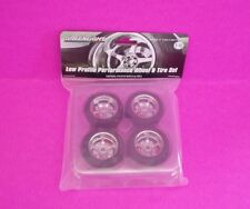 Greenlight Collectibles 1:18 scale Low Profile Performance Wheel & Tire Set