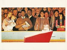 (P033) Postcard - Norman Rockwell - The Right to Know