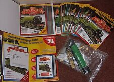 RARE HACHETTE FLYING SCOTSMAN BUILD YOUR OWN LOCOMOTIVE MAGAZINES