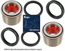 KOYO (OEM) Front Wheel Hub Bearing & Seals For 93-07 SUBARU IMPREZA (PAIR)