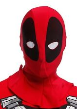 Marvel Rubie's Deadpool Mesh Eyes Mask Adult Cosplay Costume New With Tags!