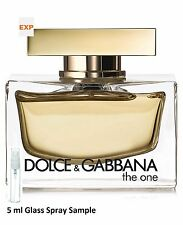 DOLCE & GABBANA THE ONE EAU DE PARFUM per Lei 5 ML spray in vetro CAMPIONE