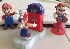 Super Mario Bros. Toy Figures Burger King Coin Collector Chain Chomp Cake Topper