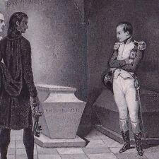 Napoléon Bonaparte Tombeau de Frédéric II de Prusse Friedrich II. Preußen 1845