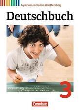 Deutschbuch 03: 7. Schuljahr. Schülerbuch Gymnasium Baden-Württemberg von...