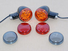 Rear Turn Signals Lights W/Short Brackets For Harley Sportster XL 883 1200 92-16