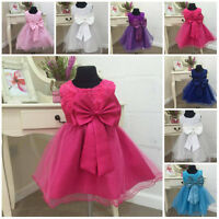 Flower Girl Christening Dress Occasion Party Bridesmaid Wedding Formal Maisy