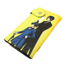 Black Butler Sebastian and Ciel Card Money Purse Cosplay Anime Wallet (1075171)