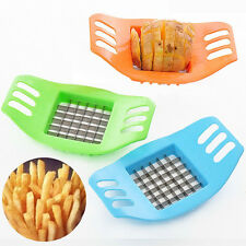 Mini Stainless Steel Potato Chipper French Fries Slicer Chip Cutter Kitchen