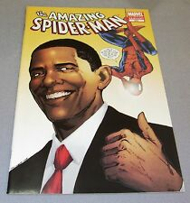 AMAZING SPIDER-MAN #583 (Obama Inauguration Day Special 2nd Print Variant) NM-