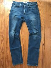 Levi's Mens Made & Crafted Tack Slim Medium Wash Jeans Size 32 X 34