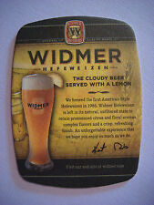 Beer Bar Coaster    WIDMER BROTHERS Brewing Cloudy Hefeweizen ~ Portland, OREGON