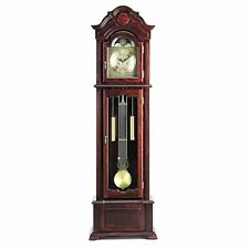 Acme Furniture 01402 A Meit Grandfather Clock, Dark Walnut Finish NEW