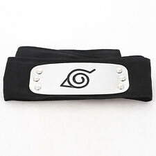 Hot Naruto Black Leaf Village Konoha Ninja Headband Kakashi Sakura Cosplay