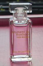 ۞  Yves Rocher  MOMENT De BONHEUR  ۞   Eau de Parfum  Mini Flakon   ۞  5 ml