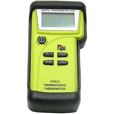 TPI 343C3 Dual Input K-Type Thermocouple Thermometer with GK13M and CK21M Probes