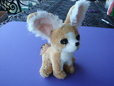 "8"" Tall Fennec Fox Wildlife Artists Plush 1 Owner From Smoke & Pet Free Home"