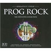 Various Artists -Greatest Ever! Prog Rock(Definitive Collection)(3-Disc CD 2012)