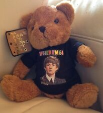 When I'm 64 (black t shirt) TEDDY BEAR 64th Birthday PAUL McCARTNEY