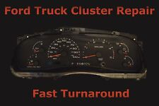 Ford Instrument Cluster Speedometer Odometer Repair Service Fix