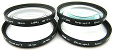 CLOSE-UP MACRO LENS SET +1 +2 +4 +10 for CANON EOS M EF-M 18-55mm STM KIT