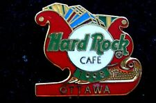 HRC Hard Rock Cafe Ottawa Christmas 1998 Sleigh LE250